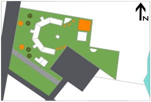 Site Plane with Floor Plan